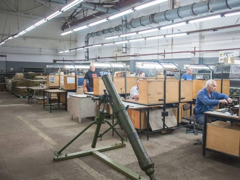 """""""除了钢,我们还使用青铜"""":莫洛特迫击炮的新版本在乌克兰展出"""