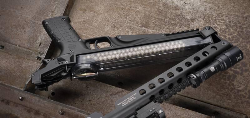 50-зарядный пистолет, не оставляющий шансов бронежилетам