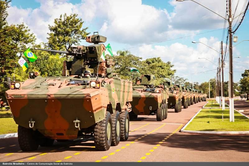 Семейство бронемашин VBTP-MR. Для Бразилии и других стран