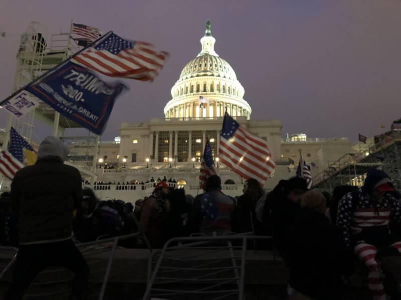 Так кто же организовал захват Капитолия – русские, китайцы или иранцы...