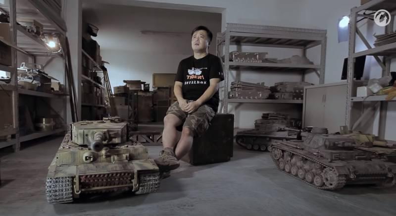 Сделано в Китае: инженеры из Поднебесной создают радиоуправляемые копии танков Второй мировой