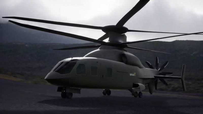 Потенциальный победитель FLRAA. Sikorsky и Boeing представили новый проект вертолета Defiant X