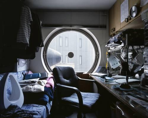 capsule apartment japan