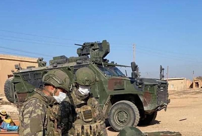 Dos columnas militares turcas entraron a la vez en la provincia siria de Idlib