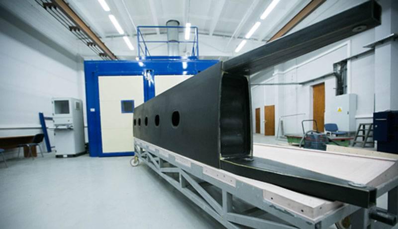 러시아는 유망한 소형 항공기를위한 합성 날개 상자를 만들었습니다