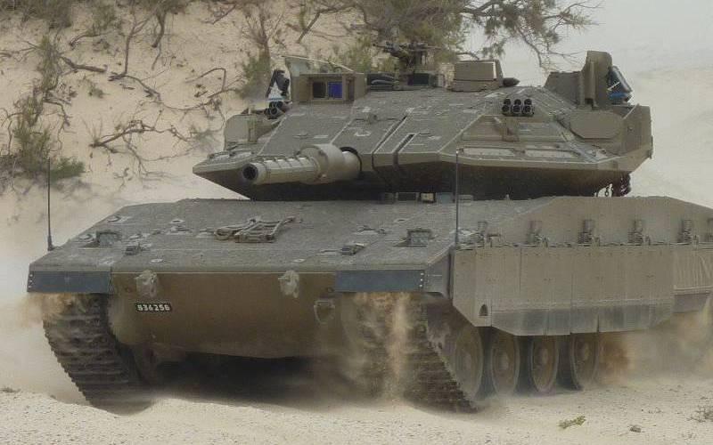 Israël a modernisé le complexe de protection active Trophy