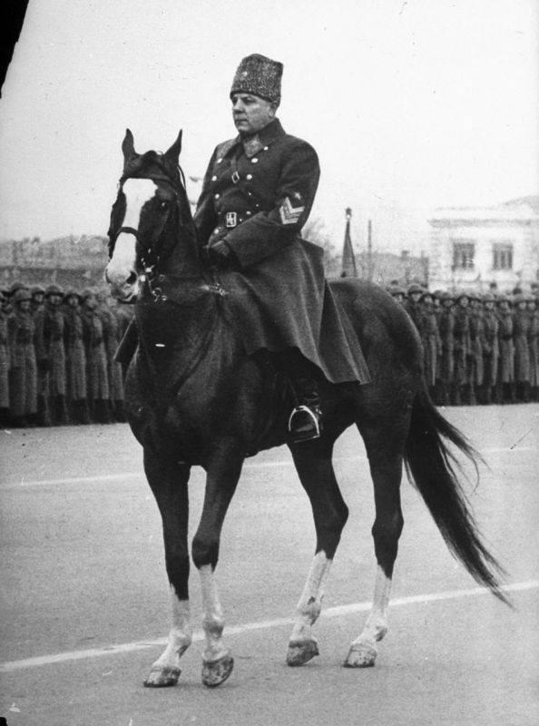 """The myth of the """"stupid cavalry"""" Voroshilov"""