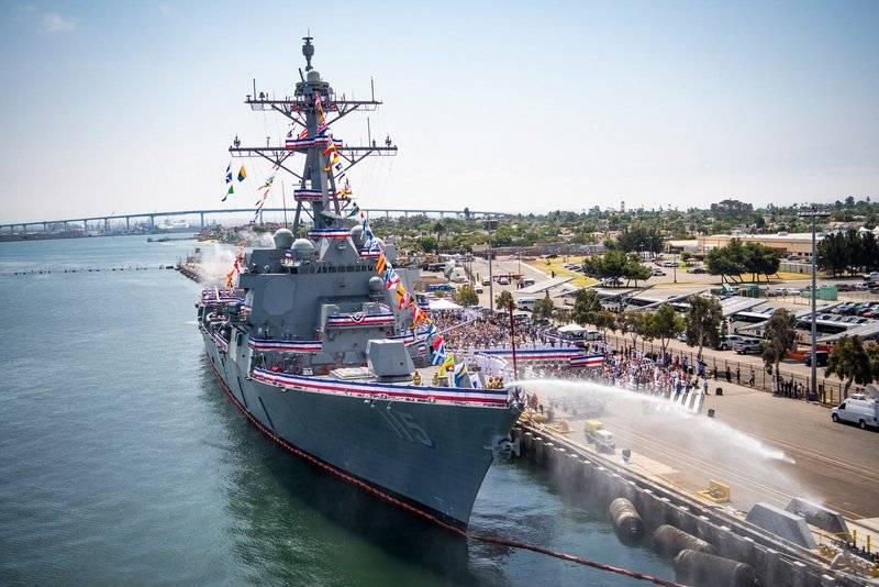 """""""최신 및 고급"""": 새로운 Arleigh Burke 급 구축함으로 보충 된 미국 7 함대"""