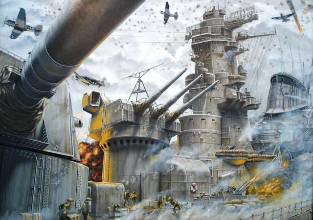 Temporale sull'oceano. Come è stata affondata la corazzata Yamato