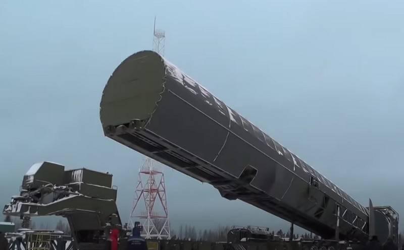 国防省は、ICBMRS-28「Sarmat」をテストするためのインフラストラクチャの構築を開始しました