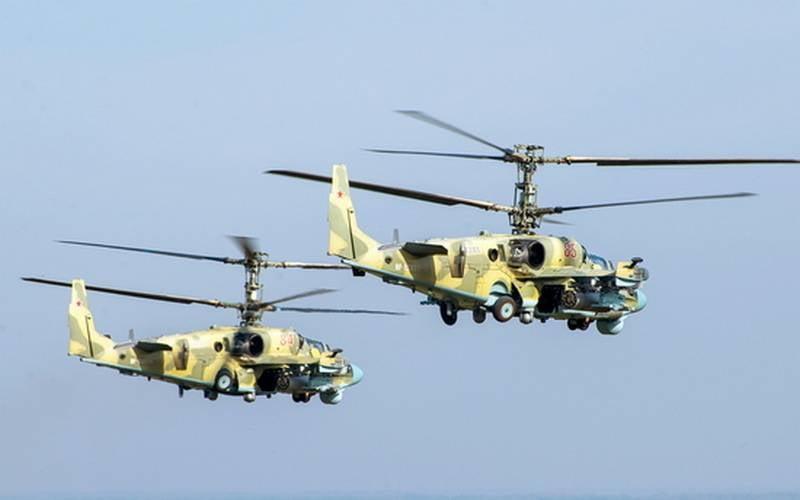Die Ukraine ist besorgt über den Transfer von Ka-52-Kampfhubschraubern in die Region Rostow