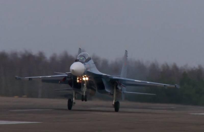 O Ministério da Defesa da Bielo-Rússia anunciou planos para o fornecimento de caças russos Su-30SM