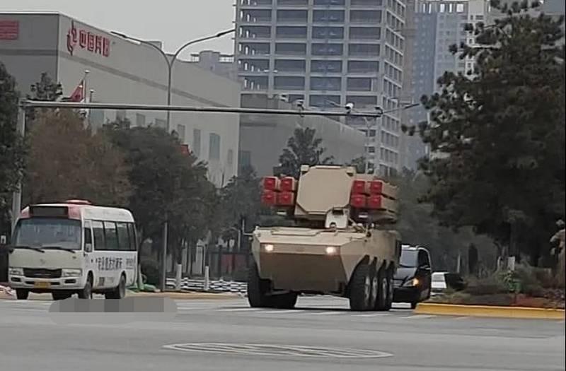 Una foto de un nuevo complejo antiaéreo de corto alcance chino apareció en la web