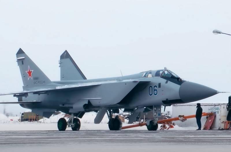 La Flota del Norte llevó a cabo la primera rotación de los interceptores MiG-31BM en el archipiélago de Novaya Zemlya