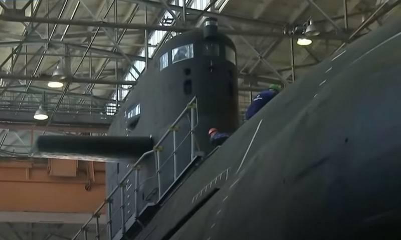 Названы сроки передачи флоту двух первых серийных подлодок проекта 677 «Лада»