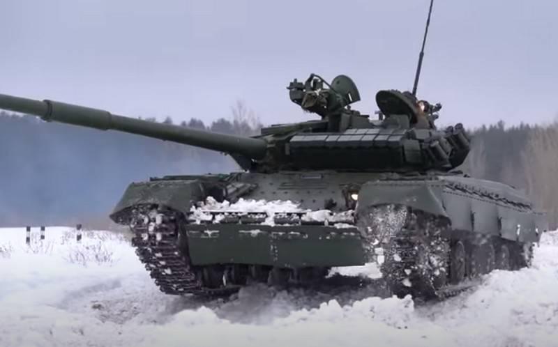 """En Ucrania, llamó al momento de la creación del tanque modernizado T-64 """"Cangrejo"""""""