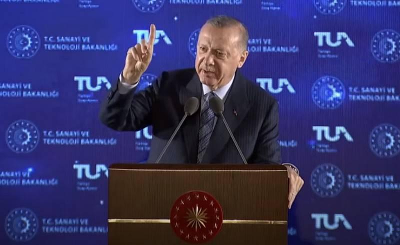 «В 2023 году посадка на Луну»: Эрдоган озвучил планы Турции по освоению космоса