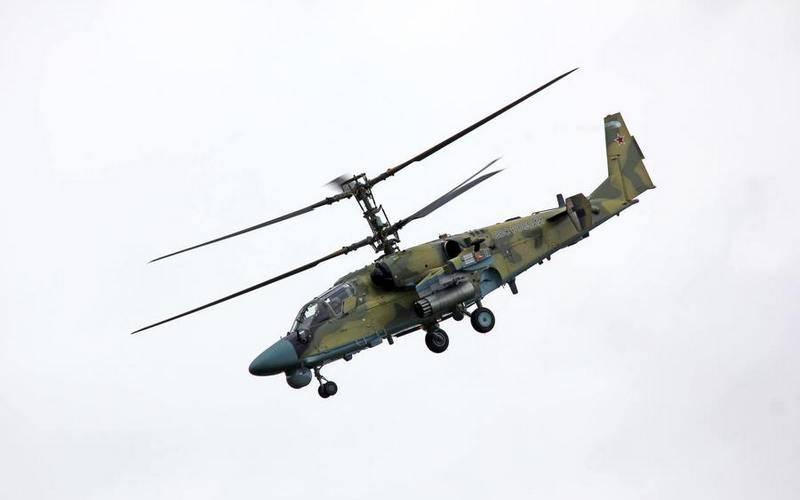 Dos prototipos de helicópteros Ka-52M modernizados enviados para pruebas