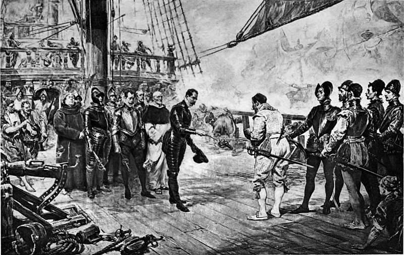 """""""高贵海盗""""和""""奸诈西班牙人""""的神话"""