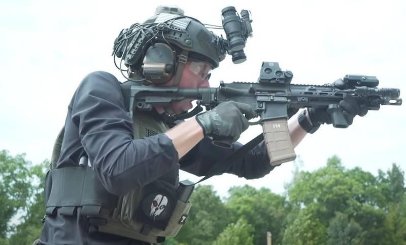 Les forces d'opérations spéciales estoniennes ont choisi le fusil allemand NK416