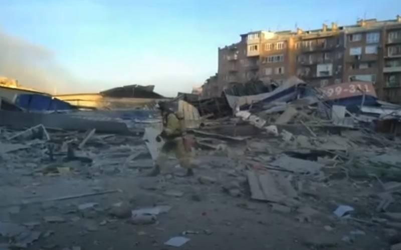 Una potente esplosione tuonò a Vladikavkaz