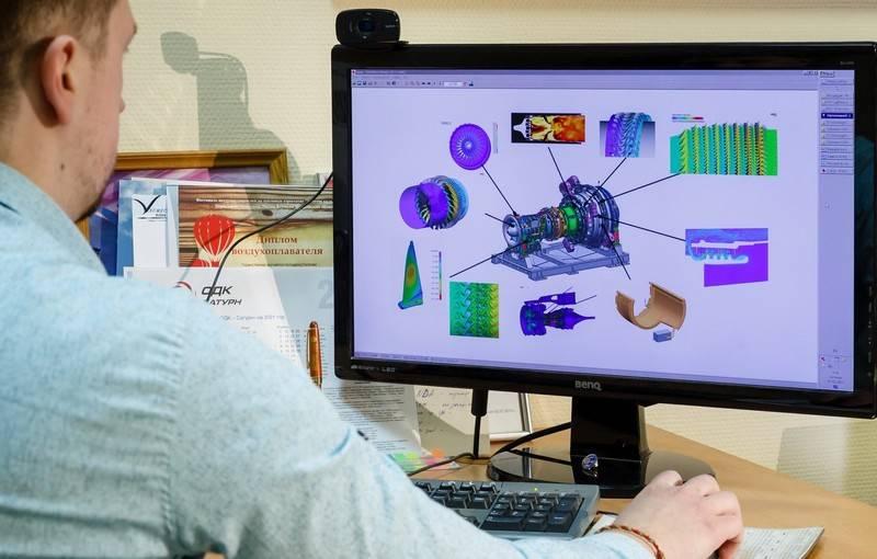 ОДК приступила к созданию цифрового двойника морского газотурбинного двигателя нового поколения