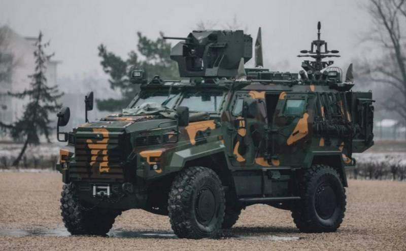 Die ungarische Armee wird auf türkische Panzerfahrzeuge übertragen