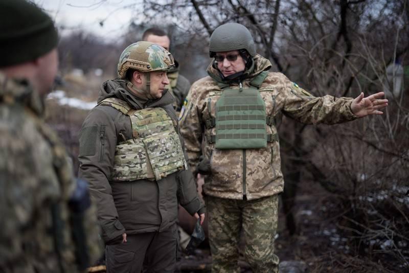 Zelensky accused LDNR of disrupting ceasefire in Donbas