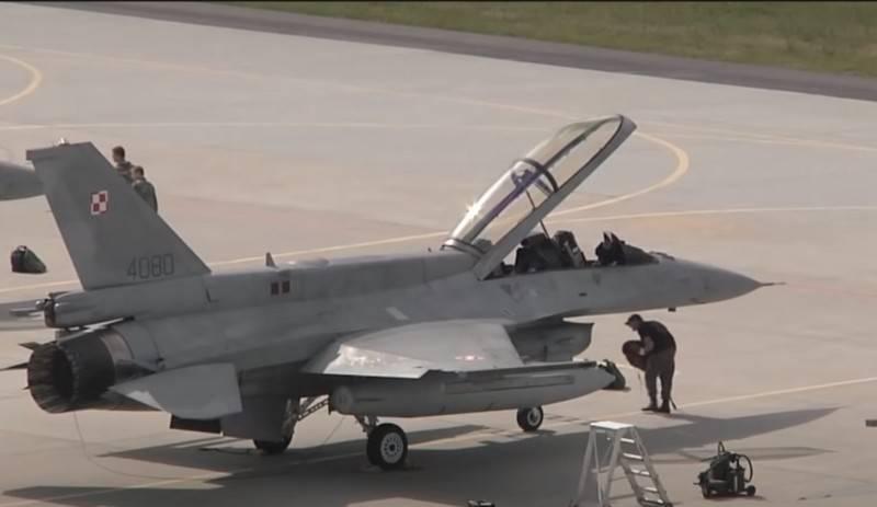 폴란드, F-16C / D 블록 52 전투기 현대화