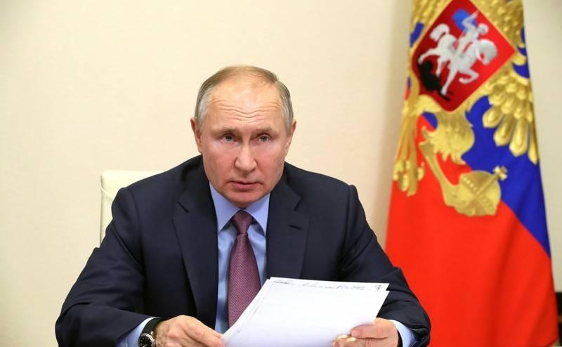 ウラジーミル・プーチンはドンバスを離れないことを約束した