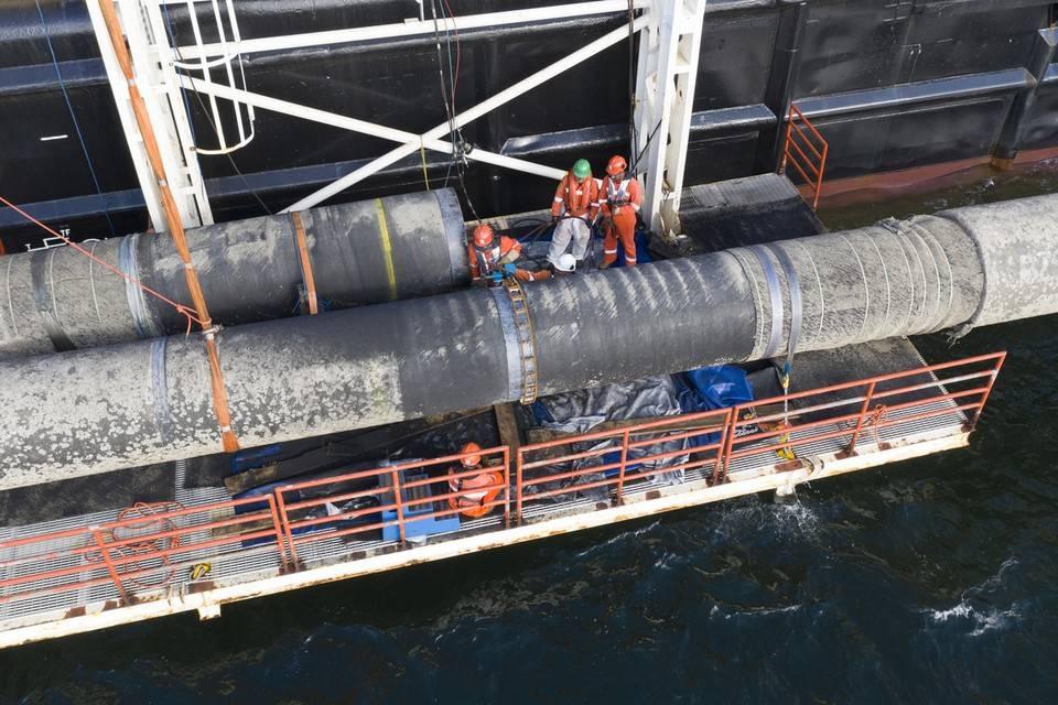ВФРГ призвали выставить США счет зазадержку «Севпотока-2»