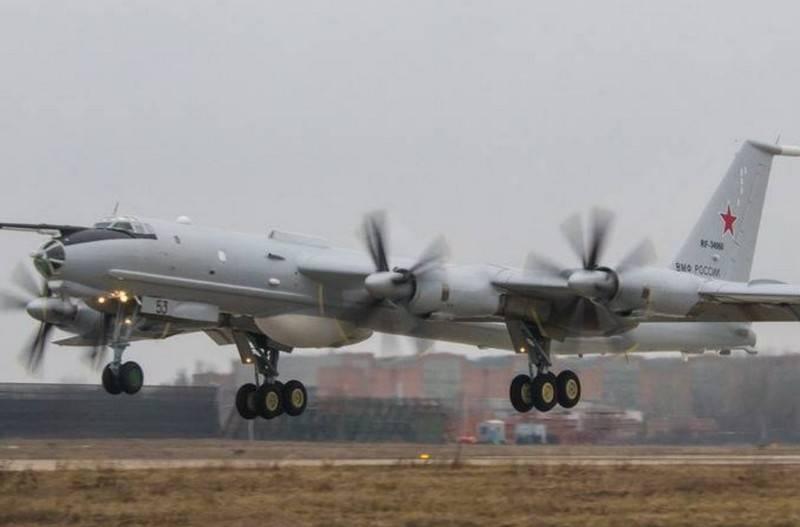 Kuzey Filosunun Antisubmarine Tu-142'si motor arızası nedeniyle Vologda yakınına indi
