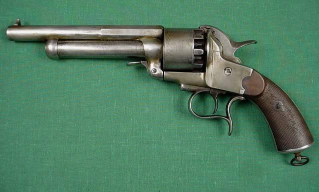 Ле Ма: револьвер с двумя стволами