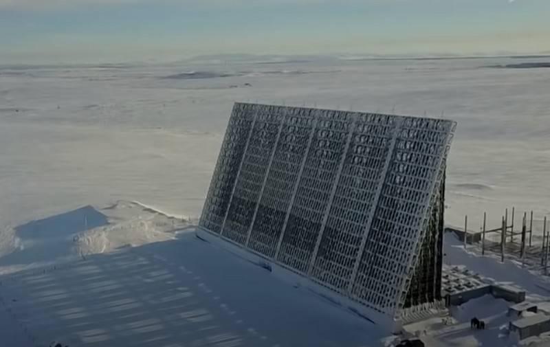 초음속 표적 탐지를 위해 테스트 된 조기 경보 시스템의 러시아 레이더 시스템
