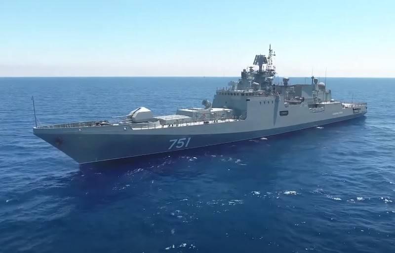 """""""Stiamo aspettando la decisione del cliente"""": """"Yantar"""" si è offerto di completare la costruzione della sesta fregata del Progetto 11356"""