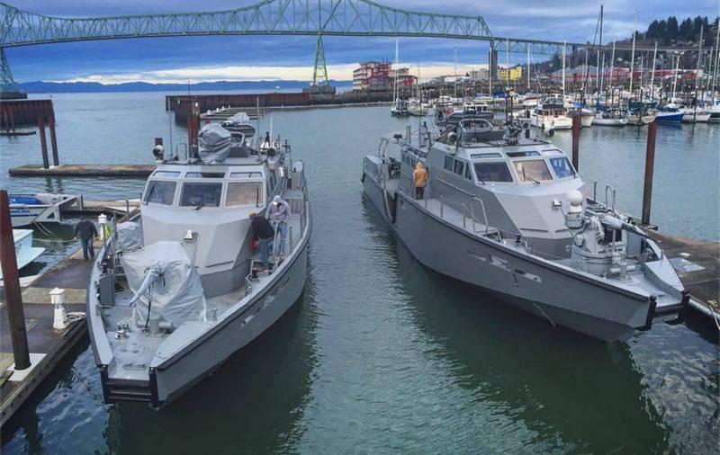 """""""服役之路"""":美国海军摆脱了拟议中的乌克兰Mk VI巡逻艇"""