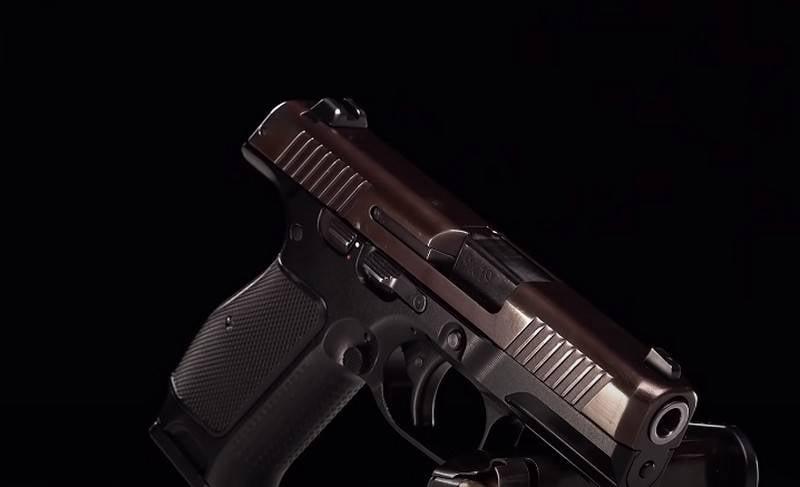 Kompakte Version von Lebedevs Pistole, die in Abu Dhabi gezeigt werden soll