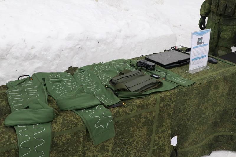 중앙 군사 구역의 특수 부대는 전기 난방을 갖춘 자율 장비를 받았습니다.