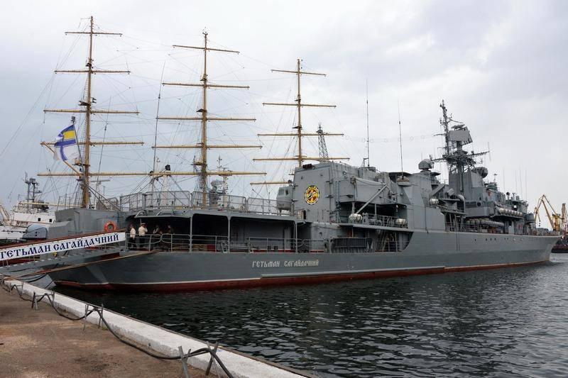 «Можно и списать»: На Украине рассуждают о дальнейшей судьбе фрегата «Гетман Сагайдачный»