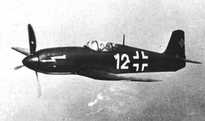 Avions de combat. La charmante provocation de Heinkel