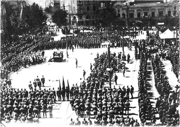 Tiflis Blitzkrieg do Exército Vermelho