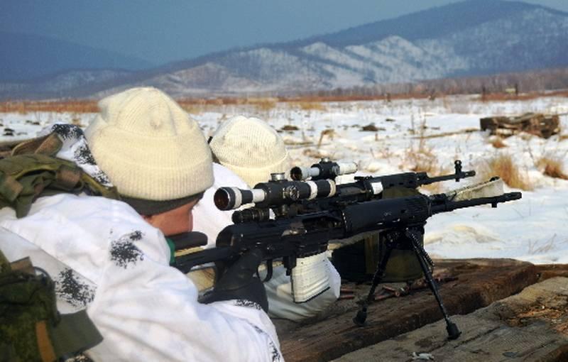 """El momento del inicio de las pruebas estatales del nuevo rifle de francotirador """"Ugolyok"""""""