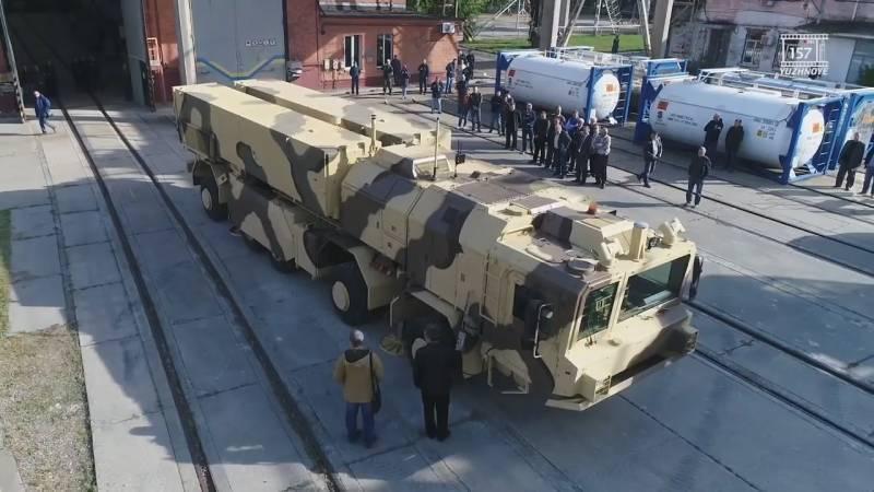 "Superará al ruso ""Iskander"": Kiev anunció el final del desarrollo del OTRK ""Sapsan"""