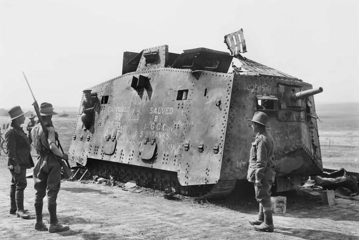 """El Imperio Contraataca"": una batalla de tanques en Villers-Bretonne ..."