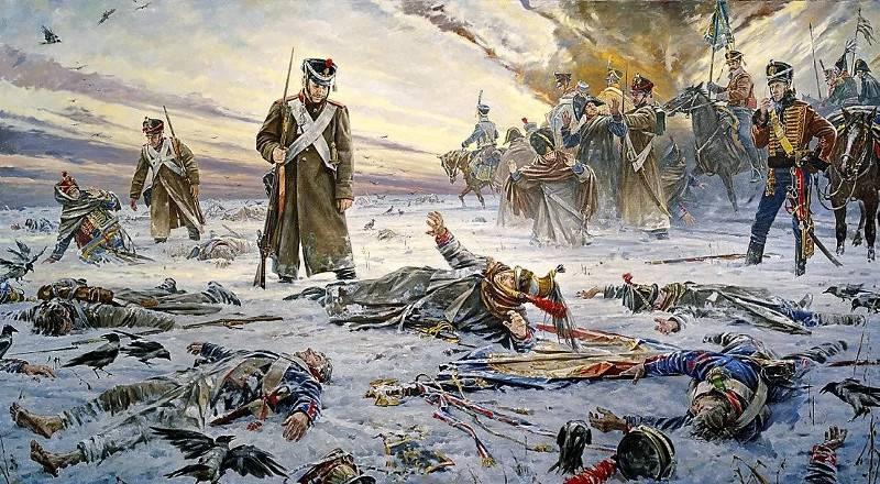 Service médical de la Grande Armée de Napoléon: sur le champ de bataille