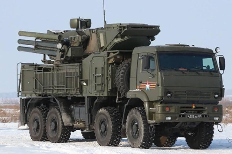 Pantsir-S1M防空导弹系统的出口版本首次在国外展示