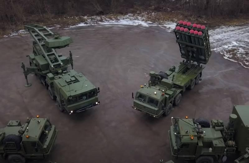 """Il Ministero della Difesa prevede l'arrivo del primo reggimento del sistema di difesa aerea S-350 """"Vityaz"""""""