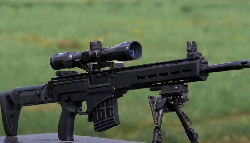 Концерн «Калашников» доработал снайперскую винтовку на замену СВД