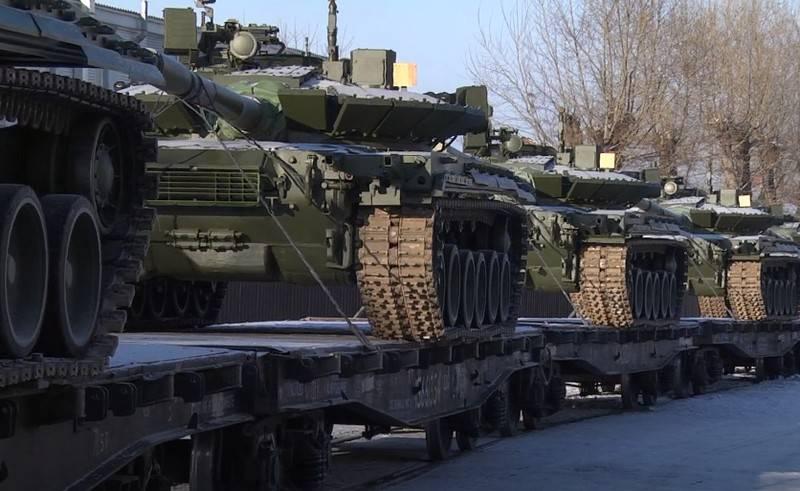 Минобороны сообщило о планах поступления бронетехники в войска