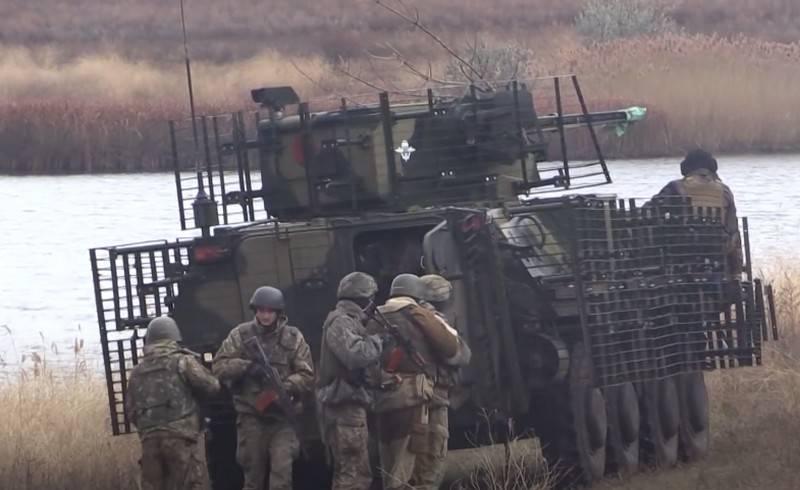 Les forces armées ukrainiennes ont planifié des exercices militaires à la frontière avec la Crimée